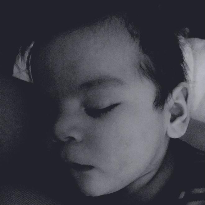 ezra sleeping